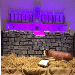 Waiting at the manger